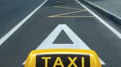 Такси разрешено ездить по автобусной полосе